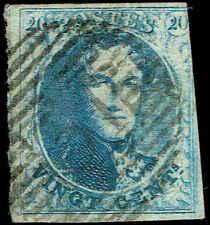 Scott # 4A - 1850 - ' King Leopold I '; Thick Paper