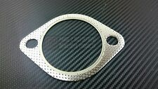 """P2M Universal 80MM 2 Bolt Down / Test Pipe Exhaust Gasket With Fire Ring 3"""" New"""