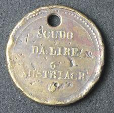 Peso Monetale - Lombardo Veneto - Scudo da 6 Lire austriache - g. 25,34