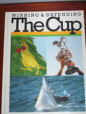 WINNING AND DEFENDING THE CUP - AMERICA'S CUP  inc COURSE MAP &  BOOKMARK