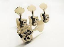 Brand new set of hipshot hb2  nickel tuners fender 67-82 P&J bass (4 in line)