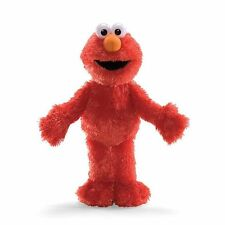 "Gund Sesame Street Elmo 14"" Plush Soft Stuffed Doll Toy"