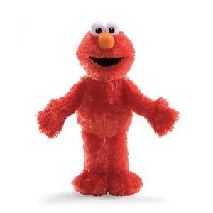 "Gund Sesame Street Elmo 14"" Plush Soft Stuffed Doll Toy"