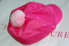 Victoria's Secret Valentine's Day Perfect Gift Pink Newsboy Hat Riding Cap NEW