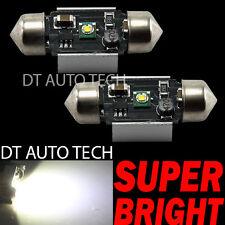 2X Cree 5 Watts 6000K LED White SMD Map/Dome Interior Lights Bulbs 31MM Festoon