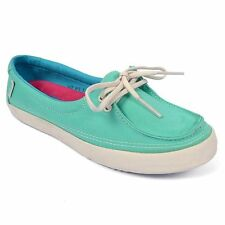 Vans Off the Wall Surf Rata Cockatoo Mint Green Scuba Blue Womens Shoes 9