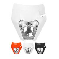Motorcycle Headlight Head Lamp For Enduro Dirt Pit Bike Motocross Supermoto New