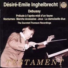 D.E Inghelbrecht - Debussy: Nocturnes Jeux Preludes CD + FREE P&P