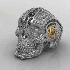 Skull Ring Men's Wax patterns for lost wax casting jewelry 1 pcs