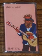 Iron & Wine BEAST EPIC Sub Pop NEW SEALED RED COLORED CASSETTE TAPE