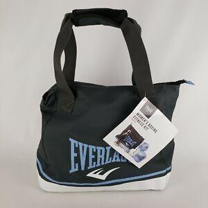 """Everlast Boxing Fitness Kit Women's Light Blue Gray White New 15 x 7.5 x 14"""""""