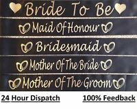 Personalised Hen Party Night Do Sash / Birthday Sashes accessories Gift/ Bride