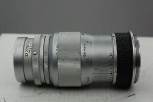 Leitz, Leica Elmar 9cm f4 lens, Leica screw, LTM, black, SN 1482799