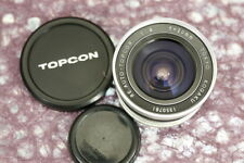 Topcon RE Auto-Topcor 20mm f4  #1350781 ........... Minty w/Caps