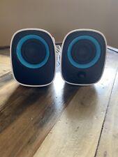 Philips Notebook Multimedia USB 2.0 Speakers SPA2210 Desk Top White Blue 3.5mm