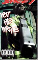 Spice 1 187 He Wrote 1993 Cassette Tape Album Hiphop Rap MC Eiht