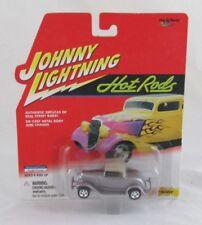 Johnny Lightning Hot Rods 1932 Hiboy Silver