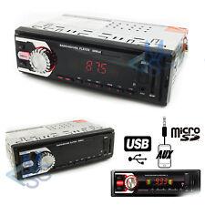 Autoradio Stereo Auto Radio FM/AM AUX Mp3 Scheda SD USB Telecomando Incluso