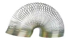 Full Size 7cm Springy Metal Slinky Retro Novelty Game Toy Stocking Filler Boxed