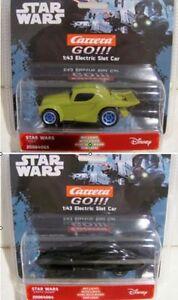 """Carrera Go Star Wars Fahrzeuge nach Wahl """"Darth Vader und Joda"""" #64064, 64065"""