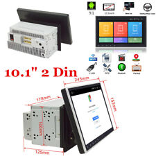 """10"""" Double 2 Din ROM 16G Android 9.1 Car Stereo Radio GPS Nav WiFi 3G 4G OBD BT"""