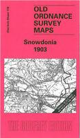 Old Ordnance Survey Map Black Mountains Talgarth Vowchurch area 1908 Sheet 214