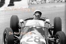 Stirling Moss Lotus 18 Winner Monaco Grand Prix 1960 Photograph 1