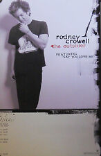 RODNEY CROWELL, THE OUTSIDER POSTER (Y4)