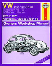 0159 Haynes VW Beetle 1303, 1303S and GT (72 - 75) up to P Workshop Manual