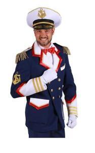 Kapitän Jacke Matrosen Kostüm Jacket Mariene Seemann Offizier Captain Uniform
