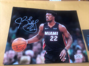 Jimmy Butler Miami Heat Signed 8x10 Photo COA