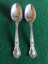 "2 Gorham Chantilly Sterling Silver 6"" Teaspoons No Monogram"