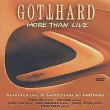 Gotthard - More Than Live von Skowronek, Gregor | DVD | Zustand gut