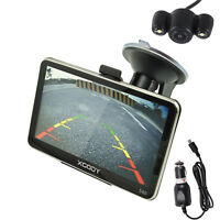 XGODY 5'' 560 8GB GPS SAT NAV Navigation Bluetooth FM with Reversing Camera