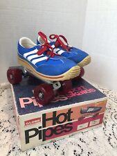 Hot Pipes Globe Skates 70s Unisex Size 1 NOS NIB Vintage Extra Wide Wheels