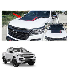 New Chevrolet Holden Colorado 17 + Bonnet Hood Scoop Cover Matte Black Red 1 Pc
