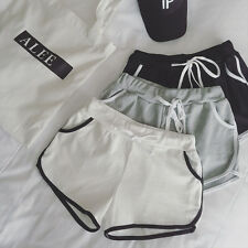 Women Girl Casual Sports Shorts Running Gym Fitness Short Pants Workout Beach