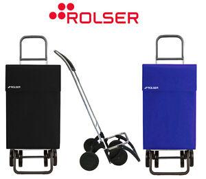 Rolser Jean Designer 4 Wheel Push or Pull Along Lightweight Shopping Trolley