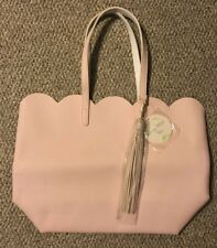 Large Light Pink Spring Petal Tote Bag Beach Travel New with Tags