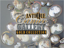 Massive (850+ piece) cataloged Vintage Solid Gold Cameo collection MUST SEE!
