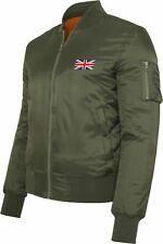 Union Jack Bomberjacke - bestickt - Fahne Flagge Vereinigtes Königreich UK