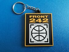FRONT 242 KEY-RING SILICONE RUBBER MUSIC FESTIVAL