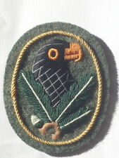 GERMAN ARMY WW2 SNIPERS BADGE FIRST CLASS SLEEVE