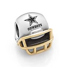 NEW! Authentic Pandora Dallas Cowboys Football Helmet NFL Charm USB790570-G109