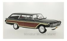 #18073 - McG Ford Country Squire-negro/madera - 1960 - 1:18
