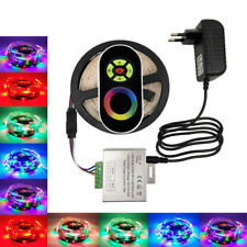 2835 RGB LED Strip RGB Tape RF Touch Wirless Dimmer Controller +Power Full Kit