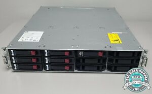 HP, P2000 G3 MSA Dual Controller LFF 6TB Modular Smart Array, P/N AW593B