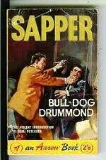 BULL-DOG DRUMMOND by Sapper, rare British Arrow #616 crime pulp vintage pb