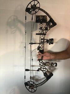 MATHEWS Compound Bow Monster Chill R + Extras