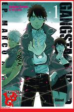 GANGSTA : Cursed 1 01 Glénat Manga Syuhei KAMO Français # NEUF #